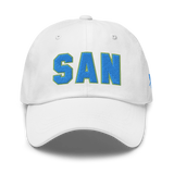 RWY23 - SAN San Diego Airport Code Dad Hat - City-Themed Merchandise - Bold Collegiate Style - Image 13