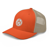 RWY23 - JAX Jacksonville Airport Code Trucker Cap - City-Themed Merchandise - Roundel Design with Vintage Airplane - Image 8