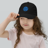 RWY23 - CLT Charlotte Kids Hat - Children's Baseball Cap with Airport Code - Image 2