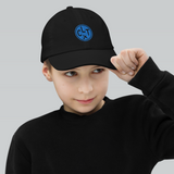 RWY23 - CLT Charlotte Kids Hat - Children's Baseball Cap with Airport Code - Image 3