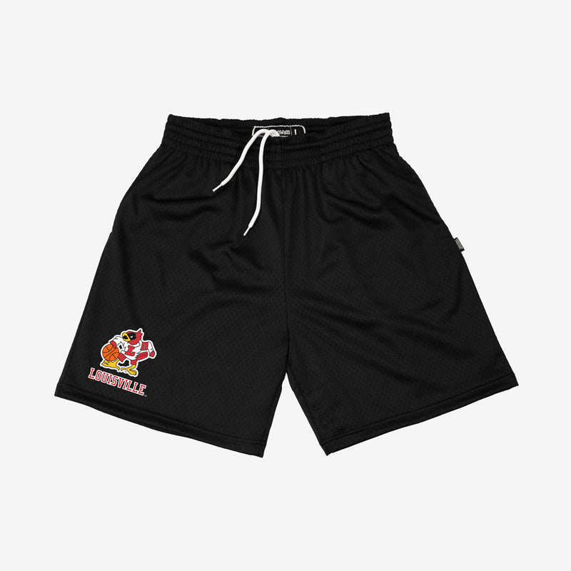 Louisville Cardinals Retro Practice Shorts