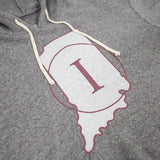 Indiana 1/2 Court Hoodie