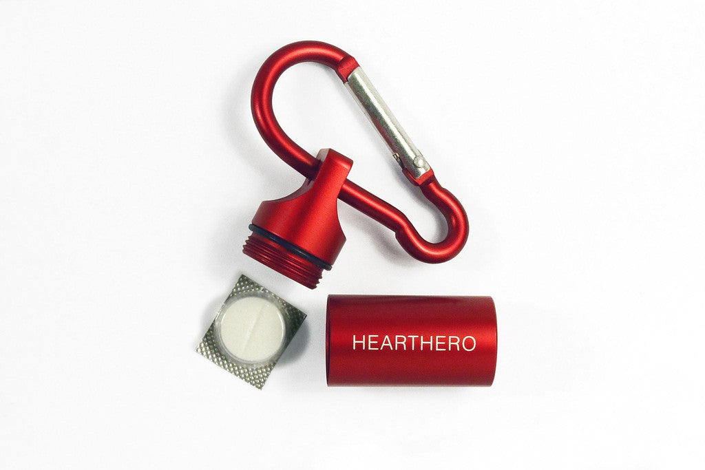 Save a Life with The HeartHero Aspirin Capsule