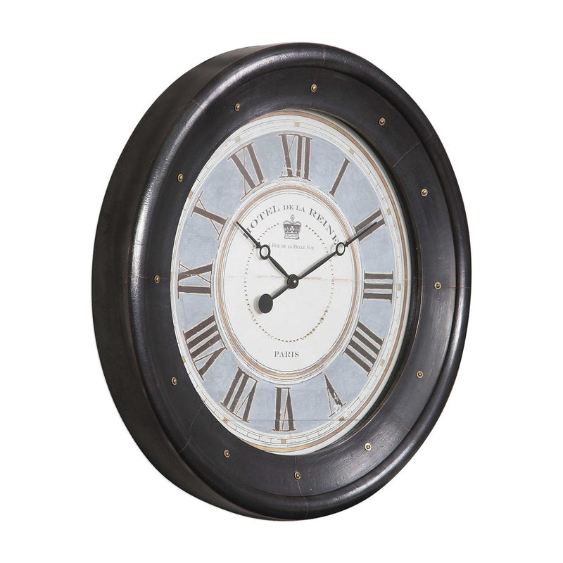 Jayden Wall Clock - Hotel de la Reine side 2