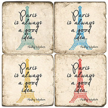 Always Paris Coaster - Set of 4