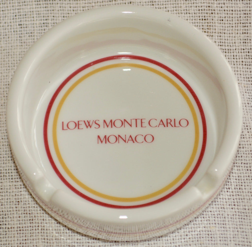 Loews Monte Carlo Monaco Ashtray