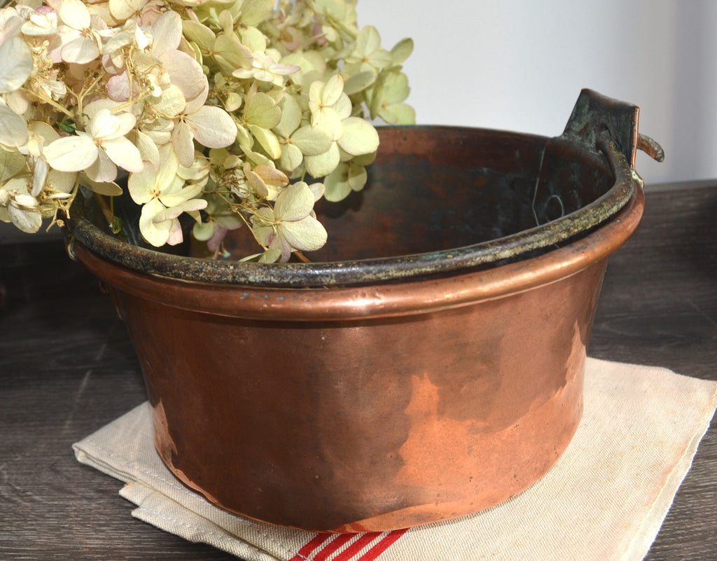 French Antique Copper Pot