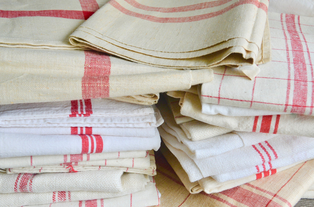 Vintage French Tea Towels