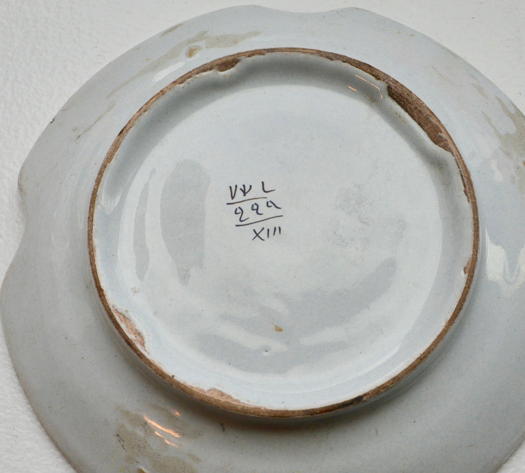 French Faience Dish Antique