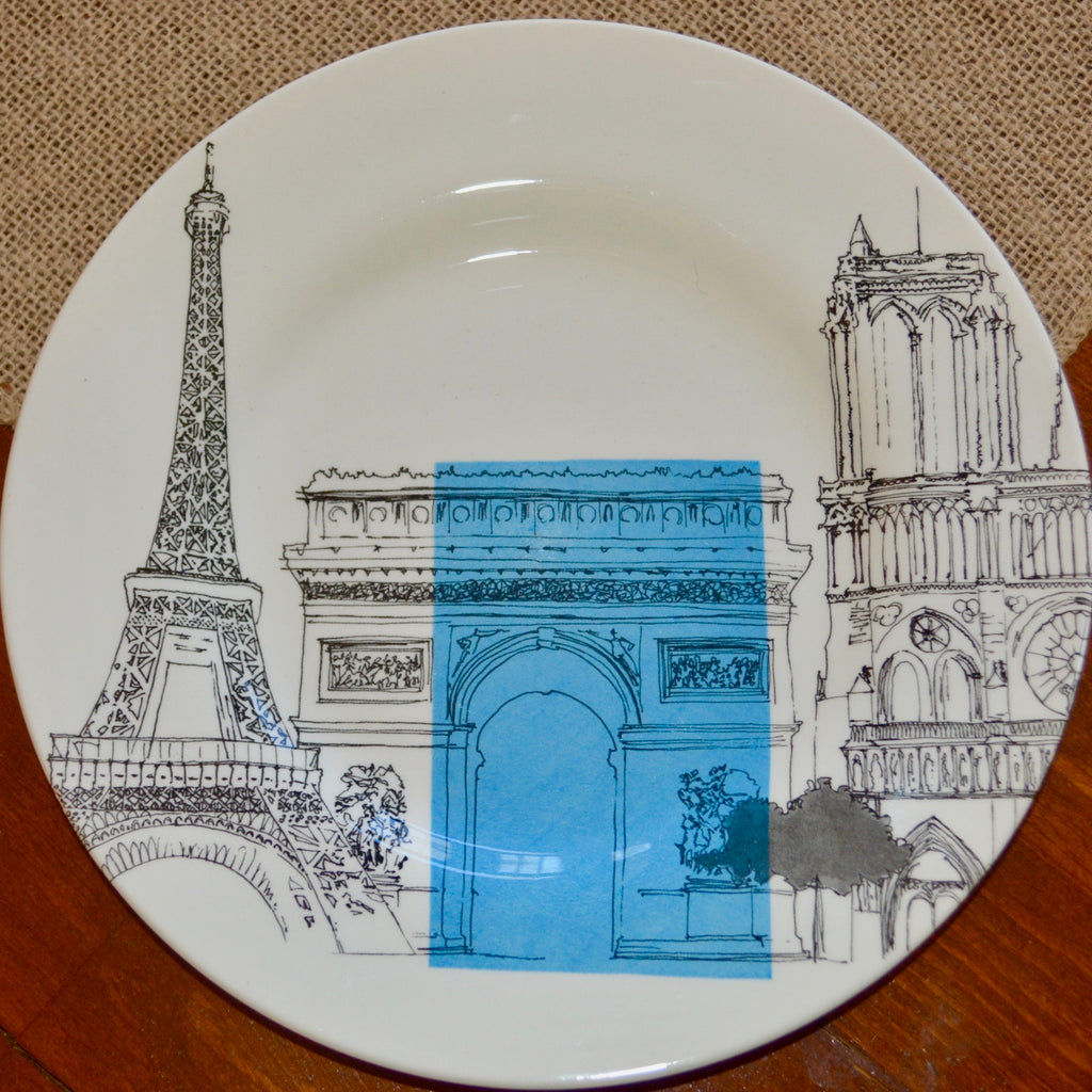 Royal Stafford City Scenes Paris Plate