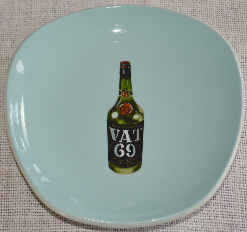 Vintage VAT 69 Whiskey Ashtray