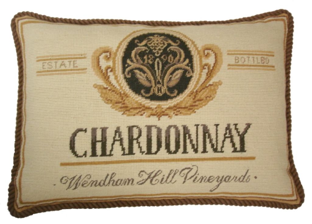 Chardonnay Aubusson Pillow