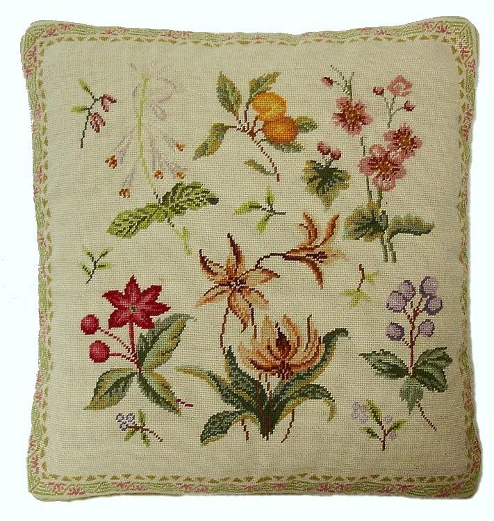 Herbs Aubusson Pillow