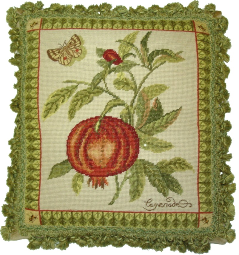 Pomegranate Aubusson Pillow