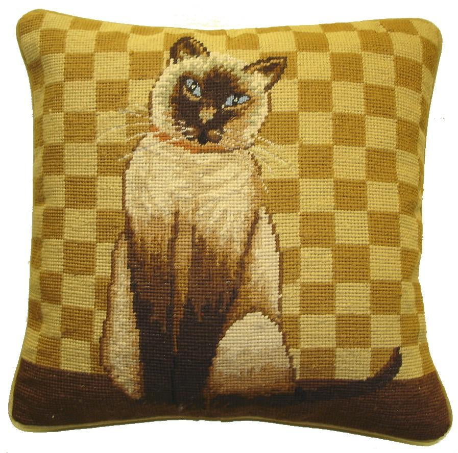 Cat Aubusson Pillow