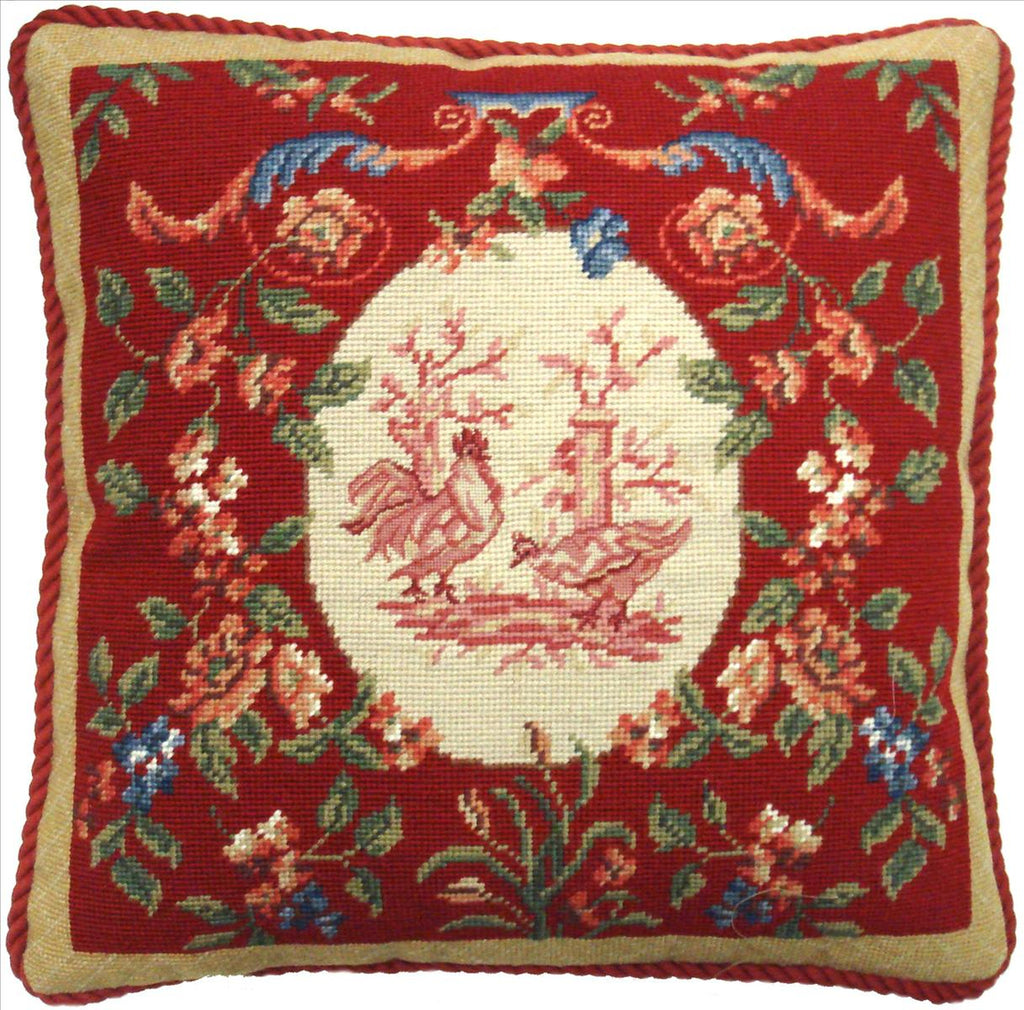 Red Hen Aubusson Pillow