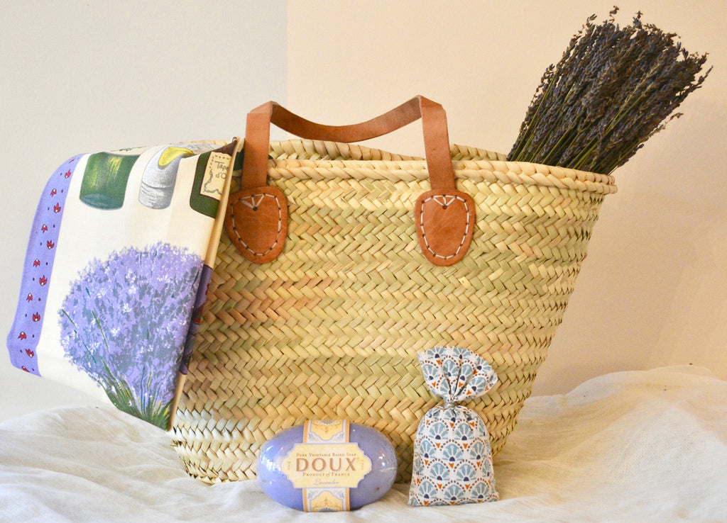 For the Love of Lavender Gift Basket