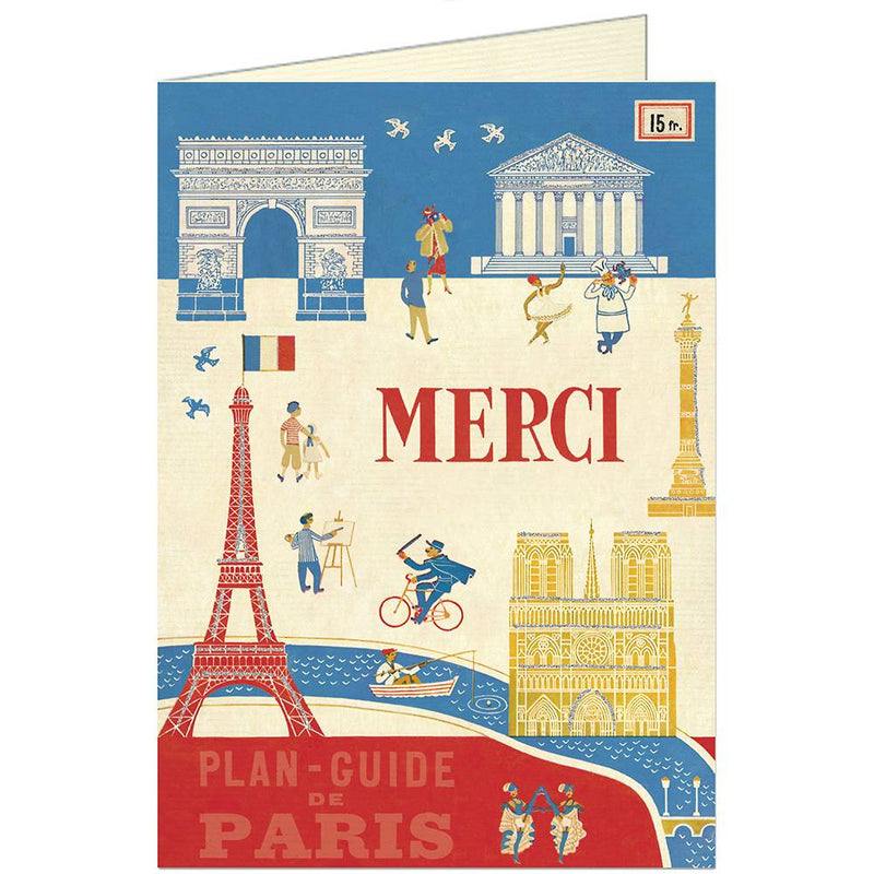 Merci Greeting Cards