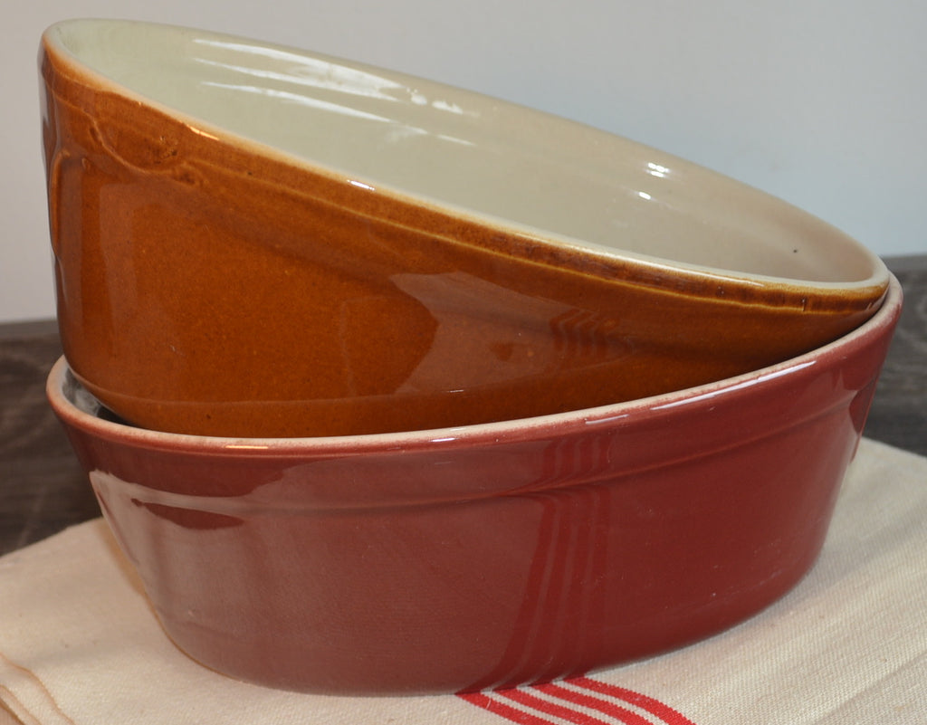Emile Henry Red Ironstone Paté, Terrine or Oven Pot