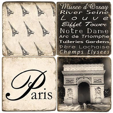 Paris Coaster - set of 4