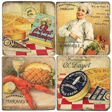 Chef de Cuisine Coaster Set