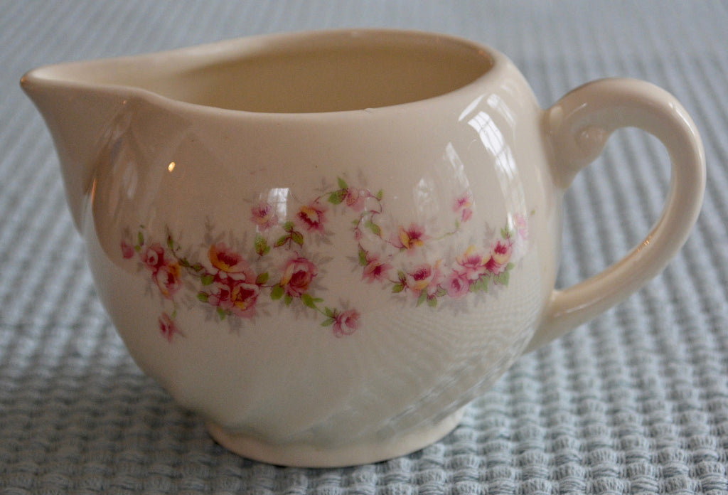 Floral Milk Pitcher