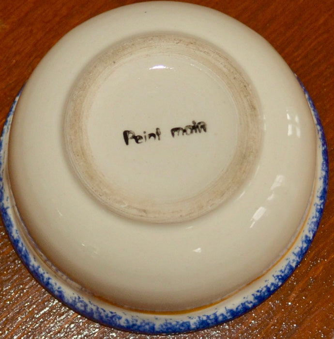 Quimper Mini Bowl Back