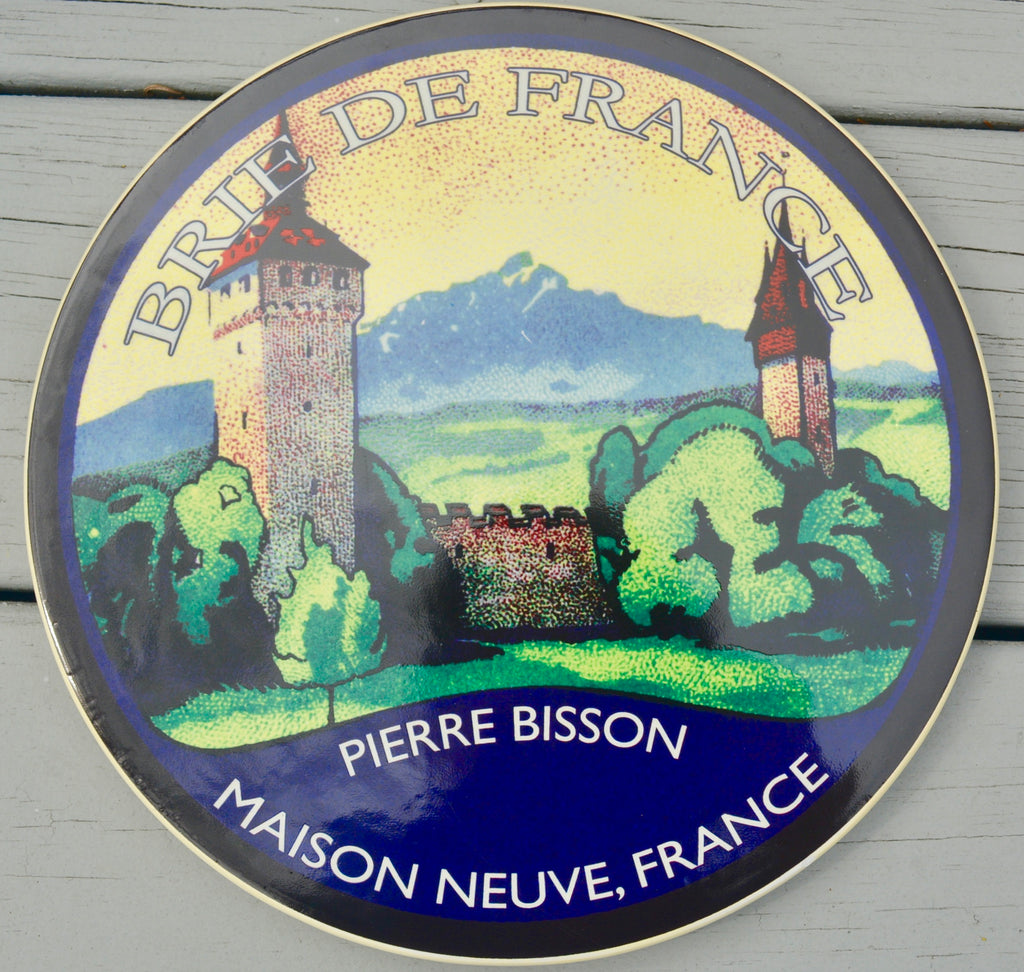 Brie de France Pierre Bisson, Maison Neuve, France Platter