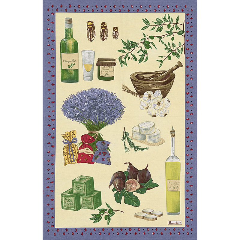Beauvillé Saint Paul Tea Towel