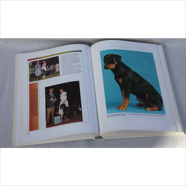 1991 The Professional Book of ROTTWEILERS - Training Care Breeding History 700 Full Color Photos