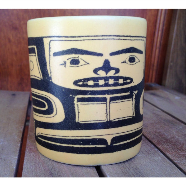 Early 19th Century Native American Art Chilkat blanket Peabody Essex Museum Collection Salem Massachusetts Indigenous Art MUG