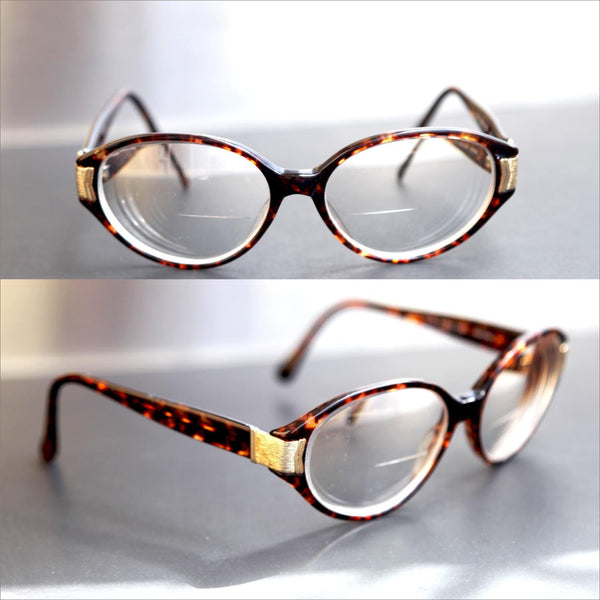 e90d647800 ROUND Tortoise Shell Glasses Thick Frame OLEG CASSINI Oval Round Eye Glasses  Prescription Lenses Unisex Men