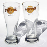 Set of 2 HARD ROCK LAJOLLA California Beer Pint Iconic Club now Closed Cafe Bar Very Collectible