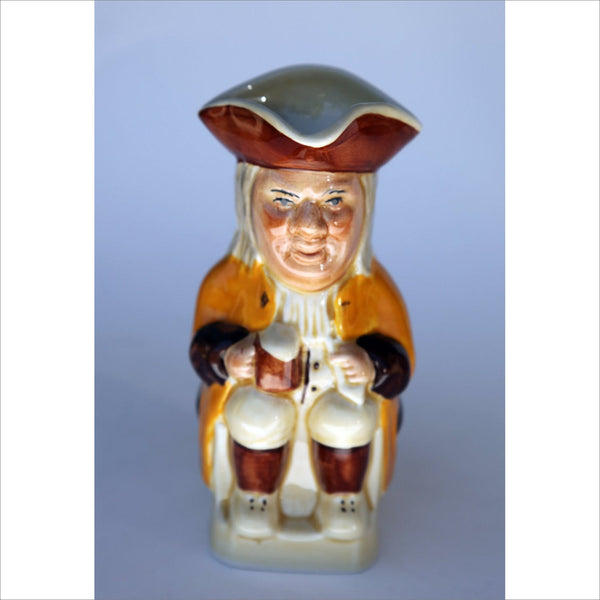 TOBY JUG by Tony Wood of Stafforshire England Sitting Figure Scultpure Figurine Collectible Creamer