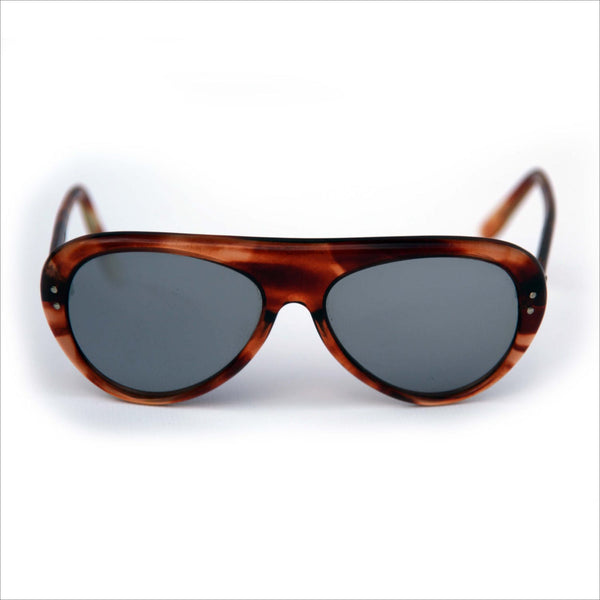 Mirror 5 Sunglasses France Tortoiseshell Thick Hinges Barrel 70s Aviator Made In Frames Vintage kn0wOP8