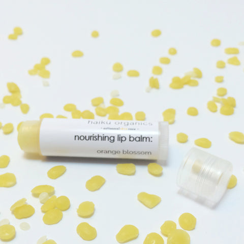 Orange Blossom Nourishing Lip Balm