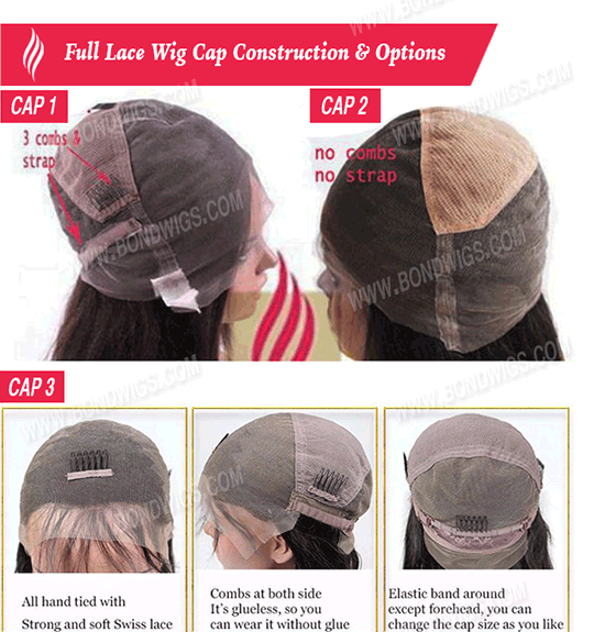 Full Lace Wig - Cap Constructions