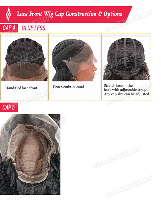 Lace Front Wig - Cap Constructions