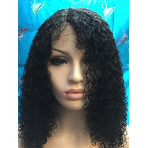 "Malaysian Hair - Glueless Full Lace Human Hair Wigs For Black Women, Kinky Curly 12""-26"" Malaysia Virgin Hair 6A Remy Hair DHL Free Shipping! - BONDWIGS"