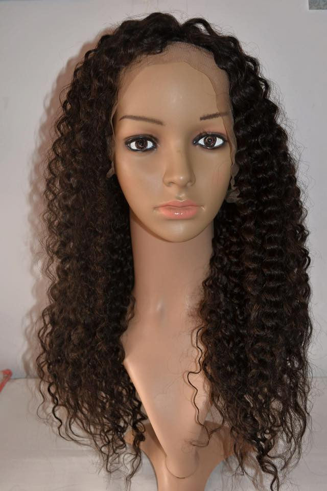 Brazilian Hair - 7A Full Lace Human Hair Wigs For Black Women Brazilian Hair Wig Loose Curly Lace Front Human Hair Wigs Glueless Full Lace Wigs - BONDWIGS
