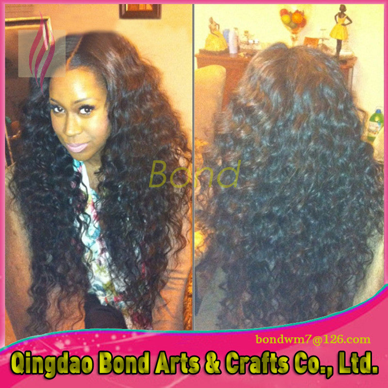 full lace kinky curly wig with baby hair 7a glueless long kinky curly human hair lace front wig virgin brazilian for black women