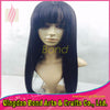 Peruvian Virgin Hair Wigs With Bangs Glueless Full Lace Human Hair Wig Lace Front Wig 100 Human Hair Wigs For African Americans