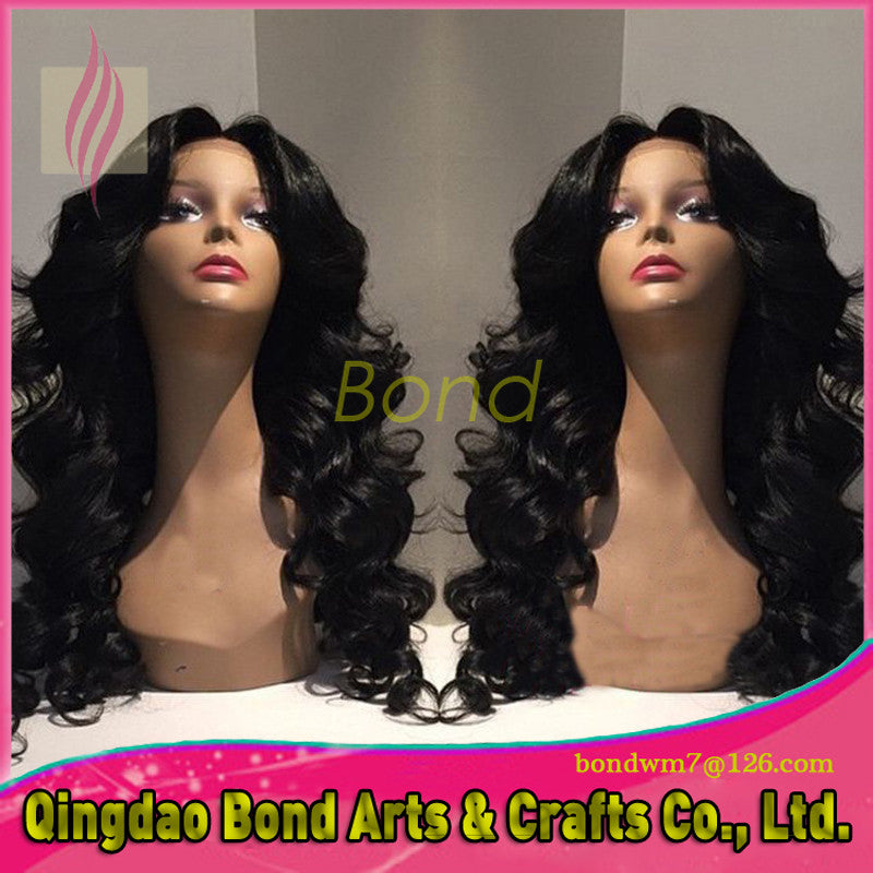 New Arrival Natural Color Brazilian Virgin Hair Glueless Full Lace Human Hair Wigs With Baby Hair Lace Front Wig for Black Women