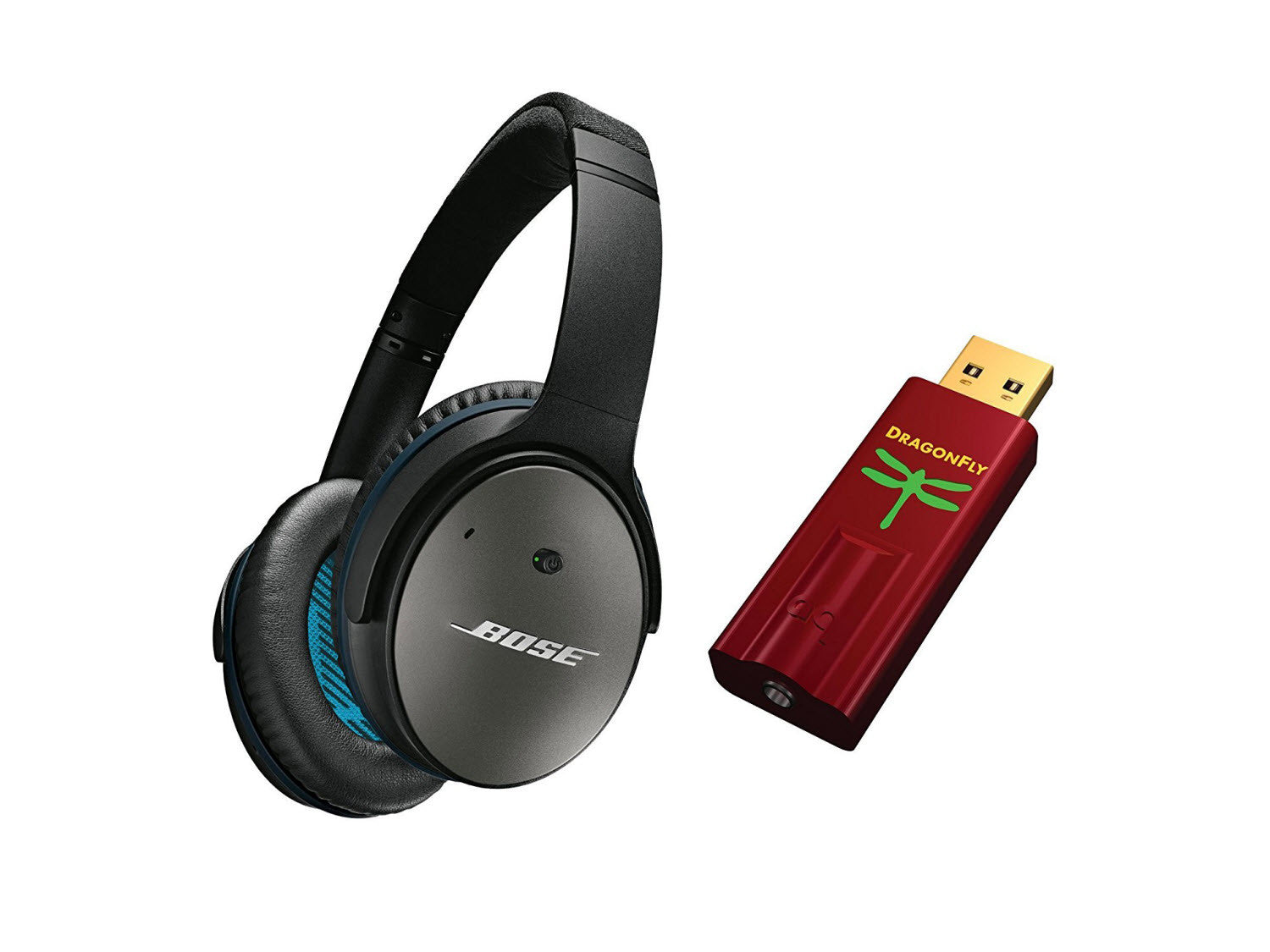 ccf9fc524d0 Bose QuietComfort 25 Acoustic Noise Cancelling Headphones DragonFly Re –  The Connection Team
