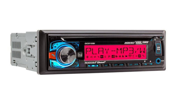 Dual DC515Bi Single-DIN CD Reveiver with 3.7-Inch LCD and Bluetooth