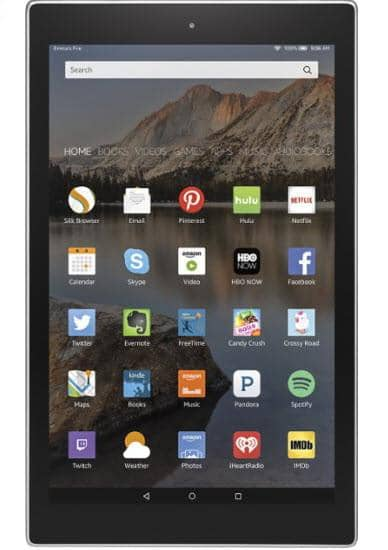 "Amazon - Fire HD 10 - 10.1"" Tablet 32GB - Aluminum"