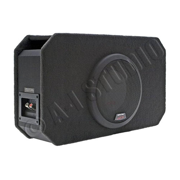 "Alpine Sbr-s8-4 8"" Type-r Ported Sub Woofer Subwoofer Enclosure Preloaded Box"