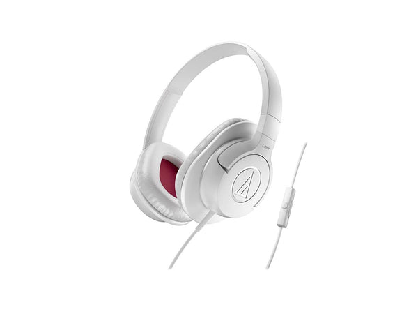 Audio-Technica ATH-AX1iSWH SonicFuel - White