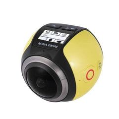 Andoer 360 Degree Wifi 2448P 30FPS 16M Fisheye Film Source Panorama Camera