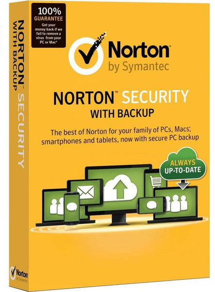 Norton Security with Backup For 10 Devices